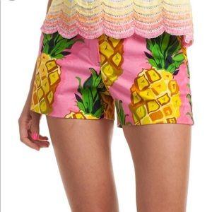 ⚡️New! Trina Turk Pineapple pink Shorts 4